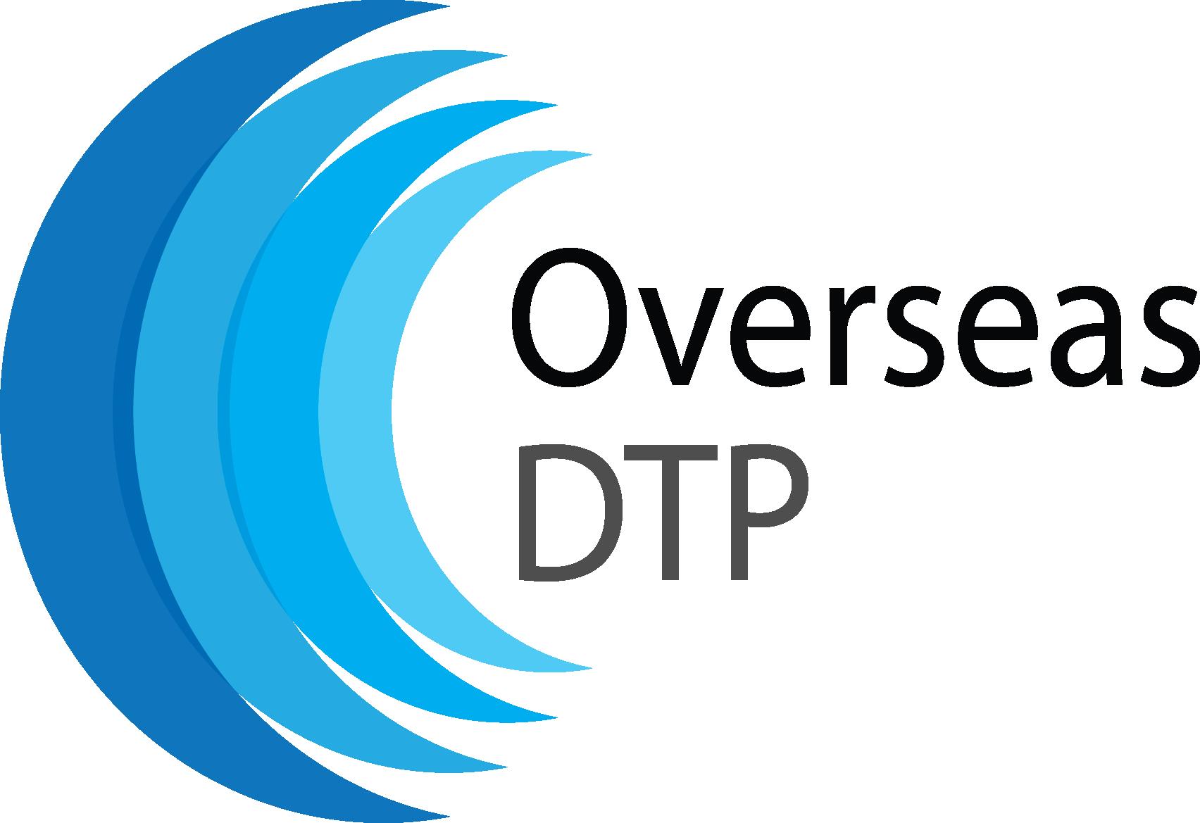 Overseas DTP Logo Black